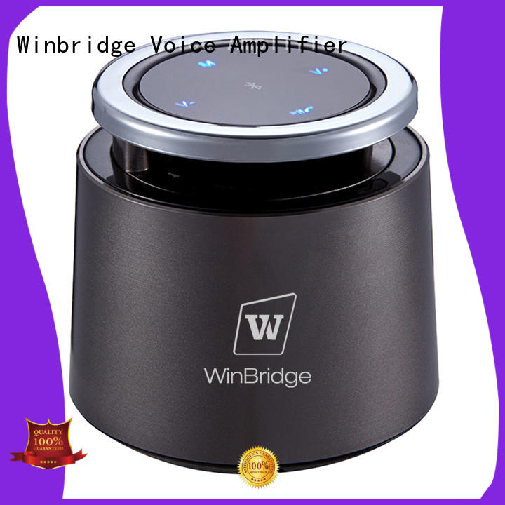 exquisite panel portable bluetooth speaker wireless Winbridge Brand