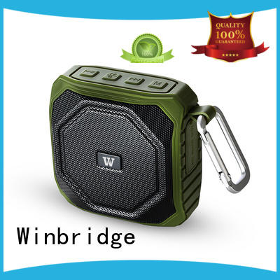 Winbridge bluetooth home speakers supplier for riding