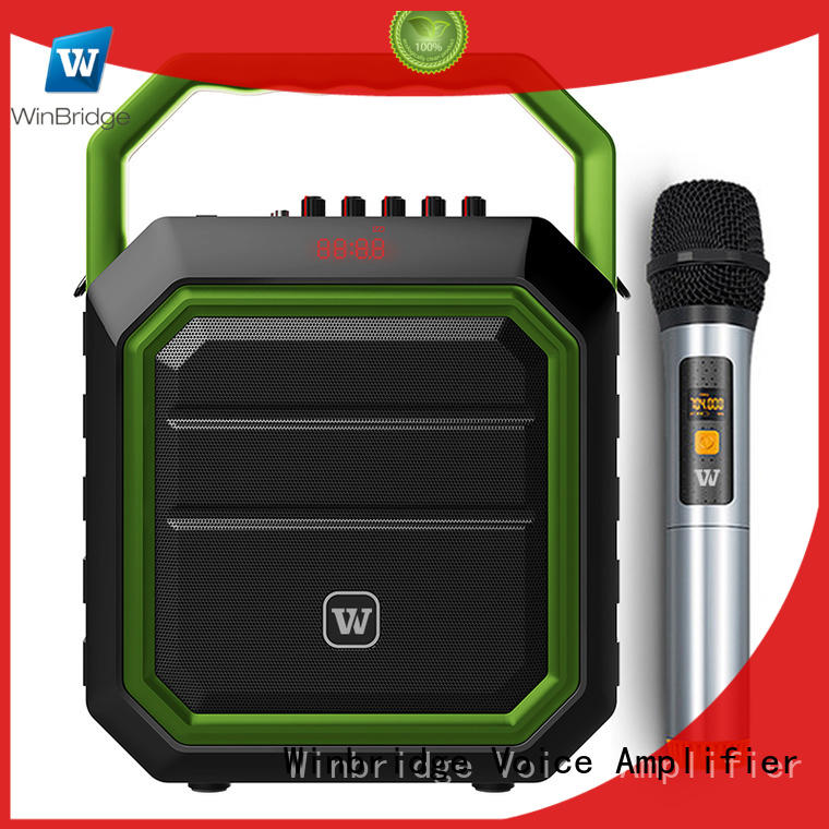 winbridge Custom portable karaoke speaker bluetooth Winbridge