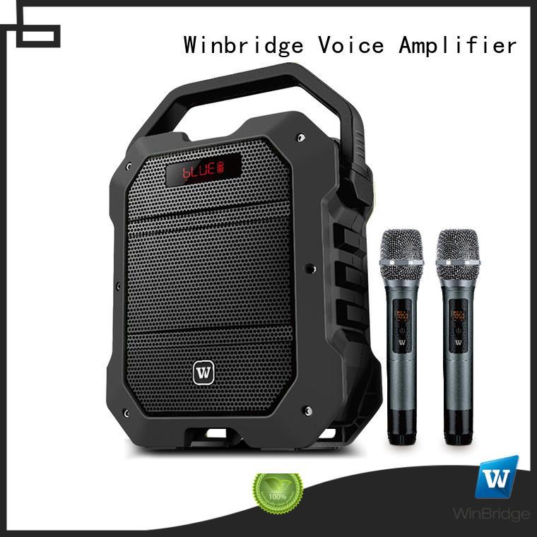 winbridge best buy karaoke speaker fm for Winbridge