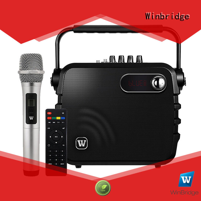speaker karaoke comfortable portable multifunction Warranty Winbridge