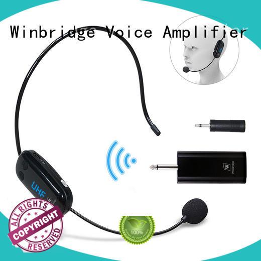 wireless microphone headset for Winbridge