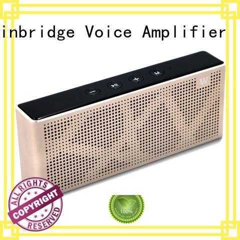 waterproof pocket exquisite Winbridge Brand cheap bluetooth speakers factory
