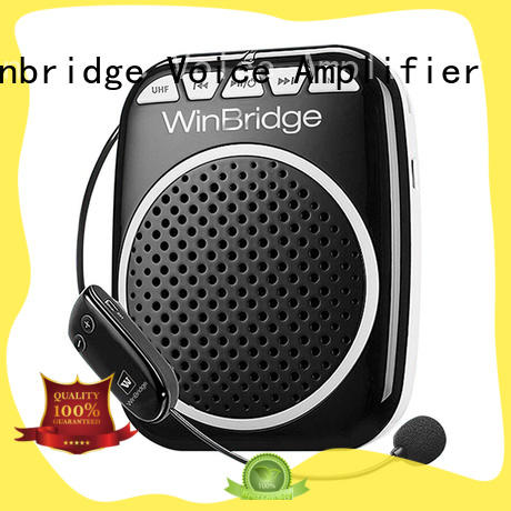 rechargeable voice amplifier for classroom with waistband for speech Winbridge