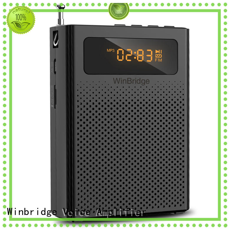 Winbridge winbridge voice amplifier manufacturer for speech