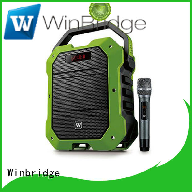 wireless Custom remote control karaoke speaker winbridge Winbridge
