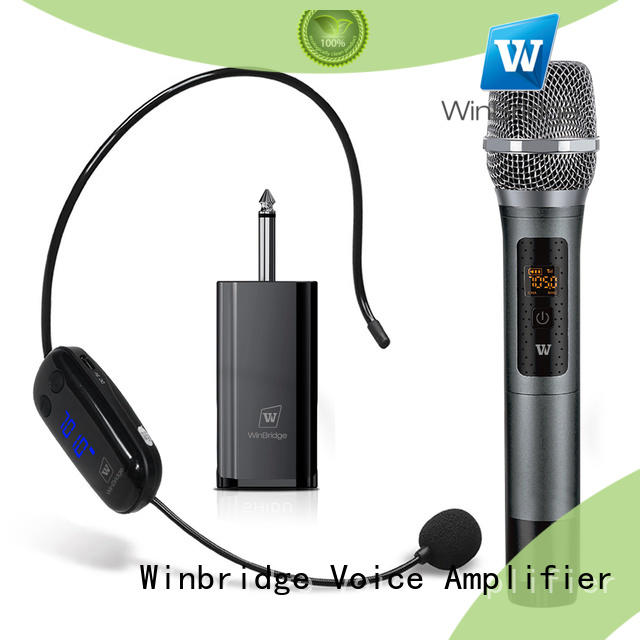 Winbridge winbridge wireless lapel microphone with party