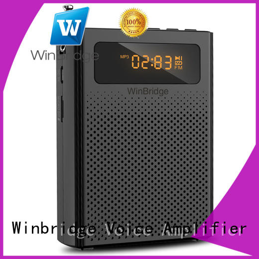 Winbridge Brand portable waterproof wireless voice enhancer