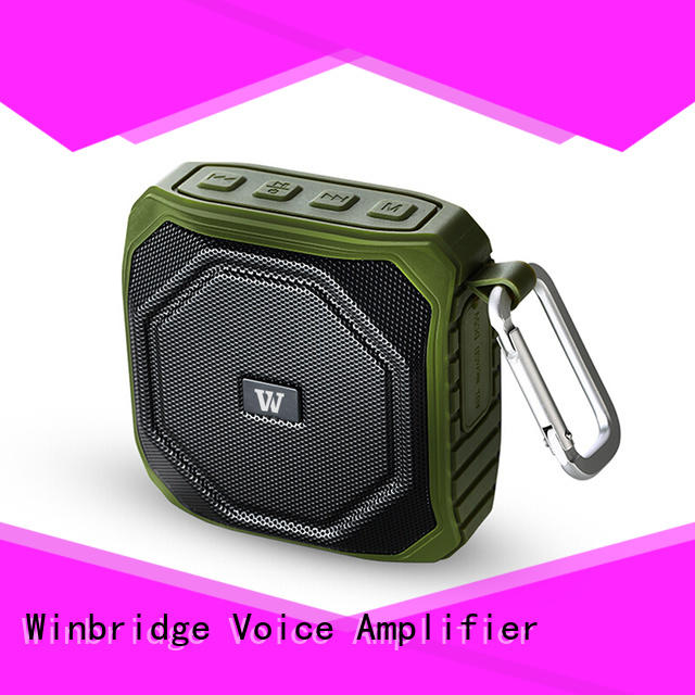 product bluetooth stereo speakers manufacturer for outdoor hiking Winbridge