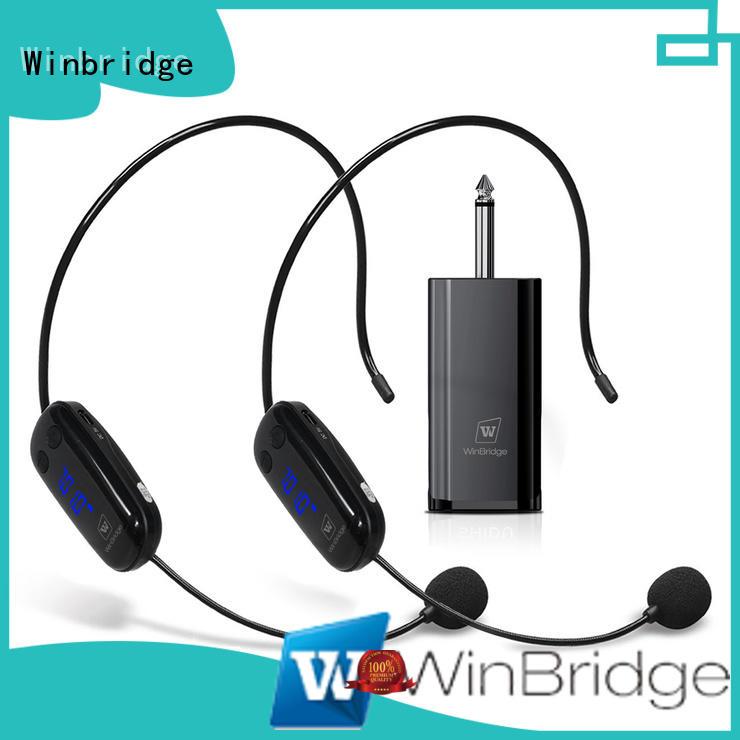 uhf wireless microphone headset company for karaoke