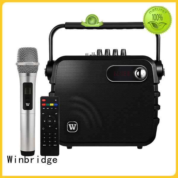 bluetooth karaoke speaker with mic microphone for