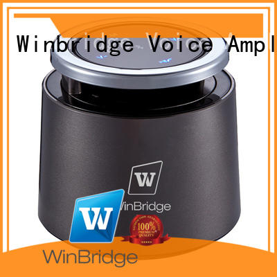Winbridge product small bluetooth speakers with touch panel for home