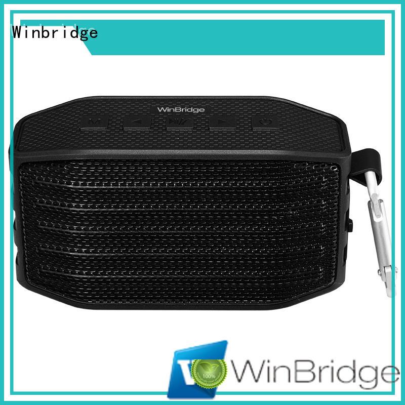 Winbridge bluetooth speaker box factory for riding