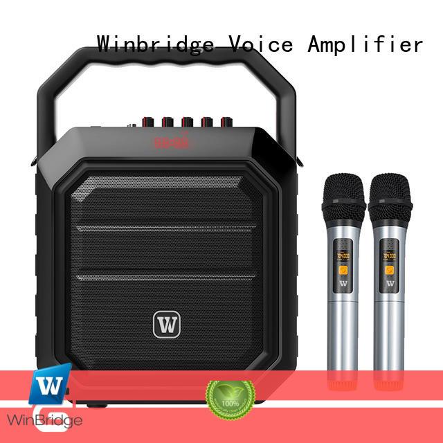 Winbridge portable the best karaoke speaker speaker for