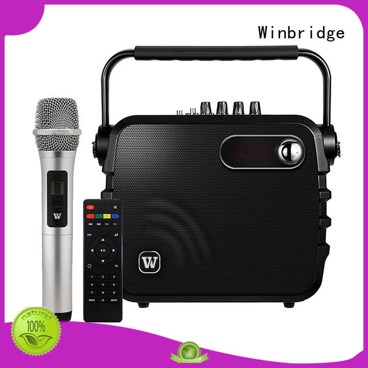 multifunction best karaoke speakers supplier for party