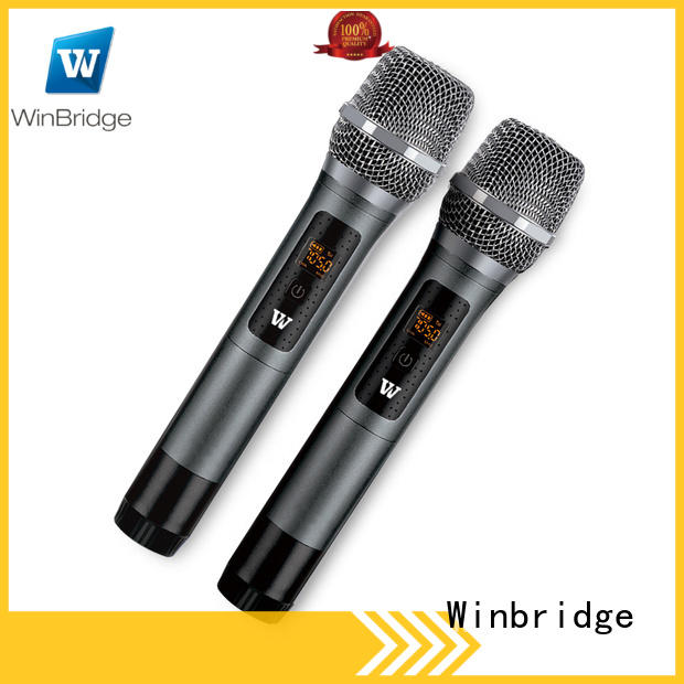 conference best wireless microphone with receiver microphone system for party