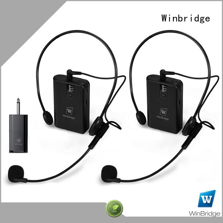Hot winbridge wireless microphone easy to use video recording Winbridge Brand