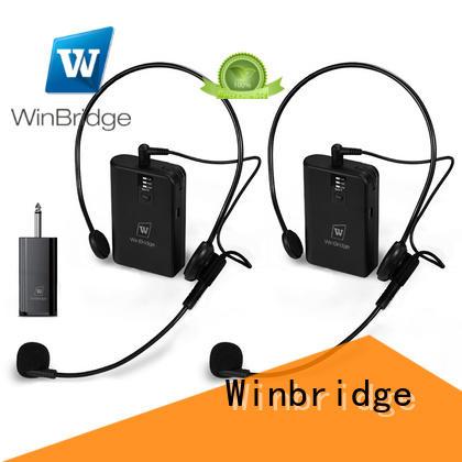 Winbridge wireless microphone system supplier for sale