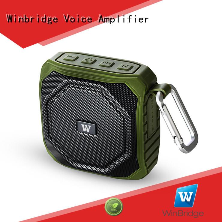 hands-free call exquisite bluetooth speaker portable Winbridge Brand