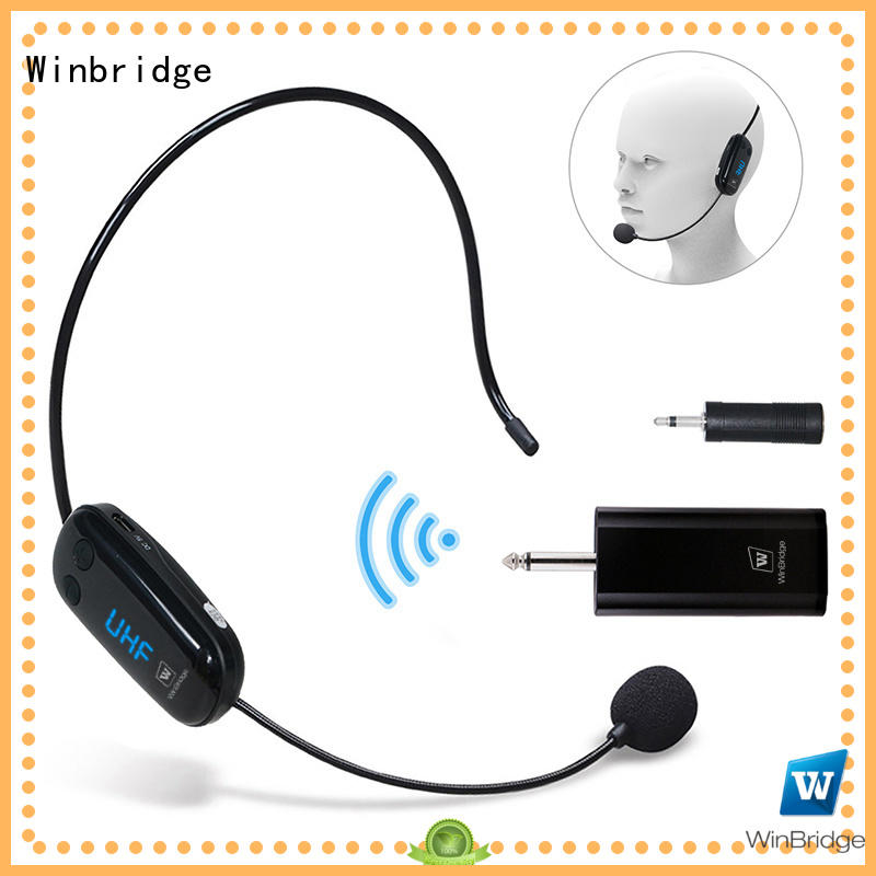 wired wireless microphone headset manufacturer for speech