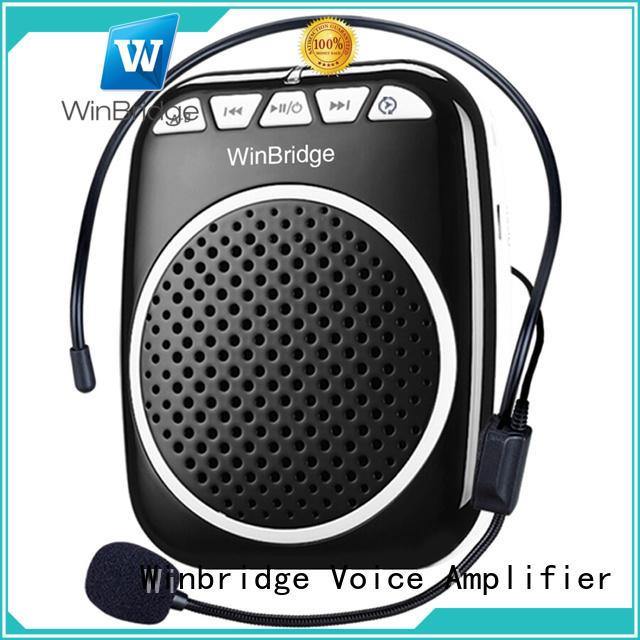 Winbridge mini voice amplifier for classroom with waistband wholesale