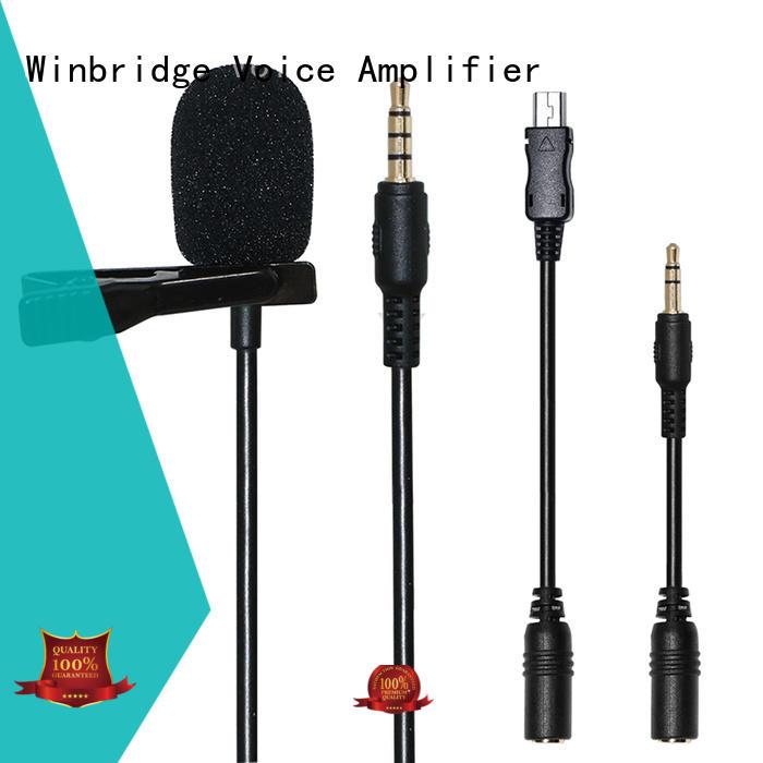 Winbridge wired wireless microphone wholesale for karaoke