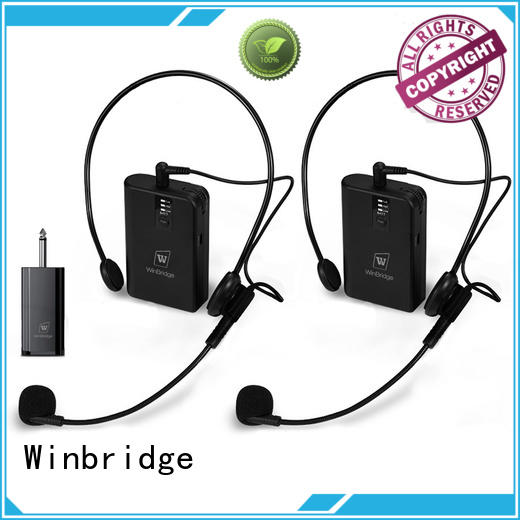 Winbridge top voice enhancer with receiver for party