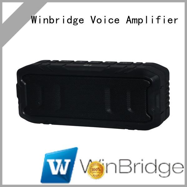 Winbridge top best wireless bluetooth speakers supply for party