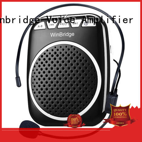 high quality wireless voice amplifier for teachers manufacturer for speech