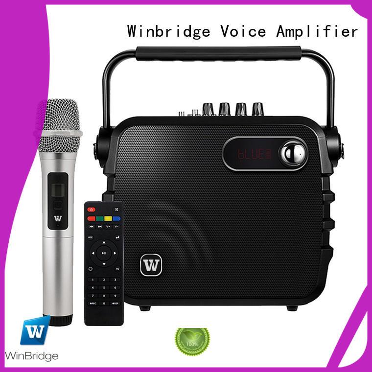 Winbridge new best portable pa speakers company for sale