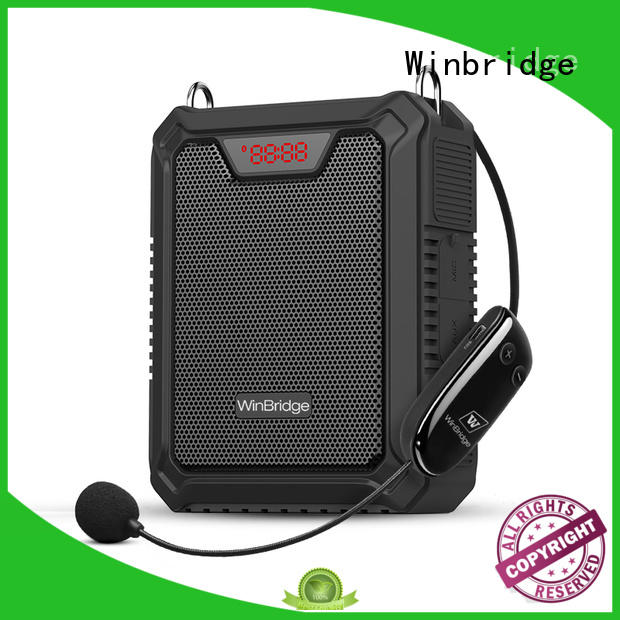 Winbridge personal voice amplifier with wireless microphone wholesale