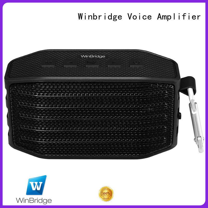 Winbridge hifi best portable bluetooth speaker speaker for