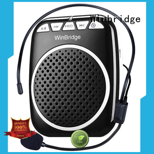 amplifier portable voice amplifier for teachers microphone teacher Winbridge