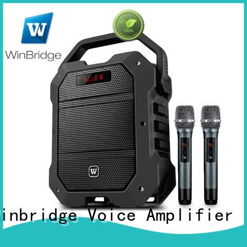 Winbridge hot sale karaoke speaker maker for sale