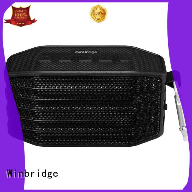 Winbridge Brand panel wireless bluetooth speaker portable factory