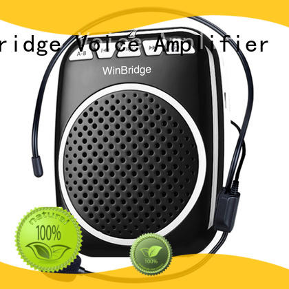 teacher voice amplifier portable microphone speaker mini waistband voice enhancer teacher Winbridge Brand