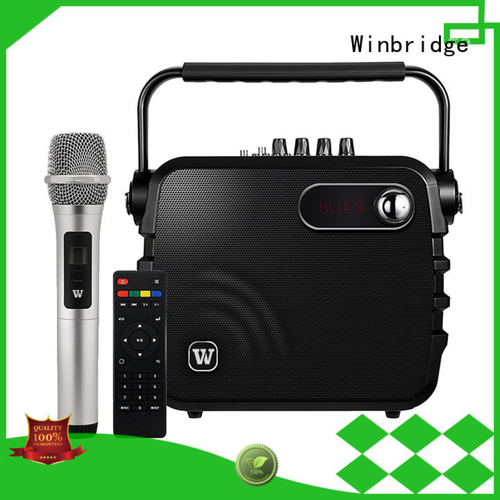 Winbridge Portable PA Speaker supply for speech