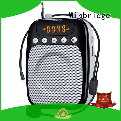 Winbridge best wireless voice amplifier for teachers manufacturer wholesale