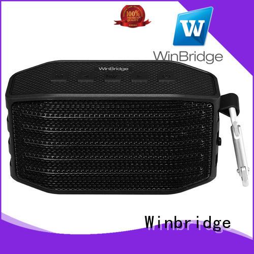 Winbridge waterproof best home bluetooth speakers high quality for home