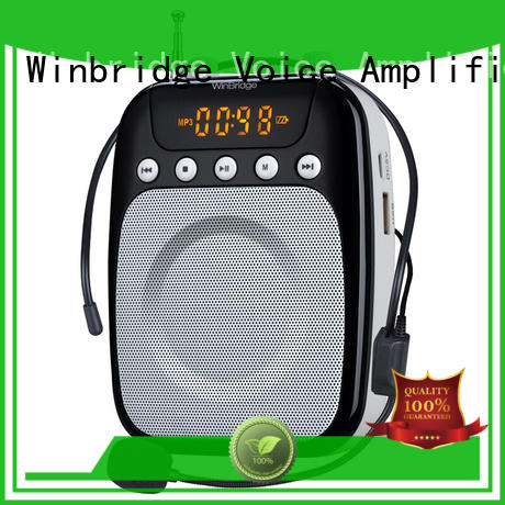 Winbridge teacher voice amplifier portable microphone speaker customized wholesale