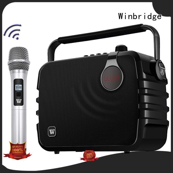 portable karaoke speaker multifunctional bluetooth Winbridge company