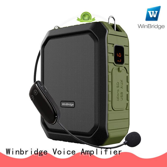 Winbridge new winbridge voice amplifier with headset for teacher