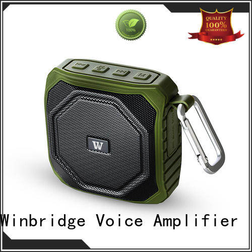 Winbridge small bluetooth speakers manufacturer for cafe