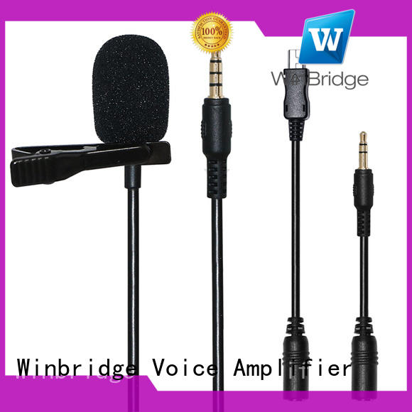 Winbridge high quality wireless mic with receiver microphone system for karaoke