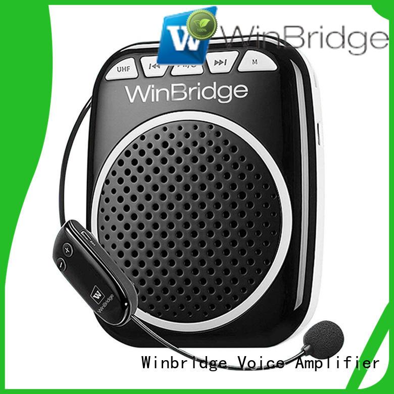 hot sale rechargeable voice amplifier with headset for teacher Winbridge