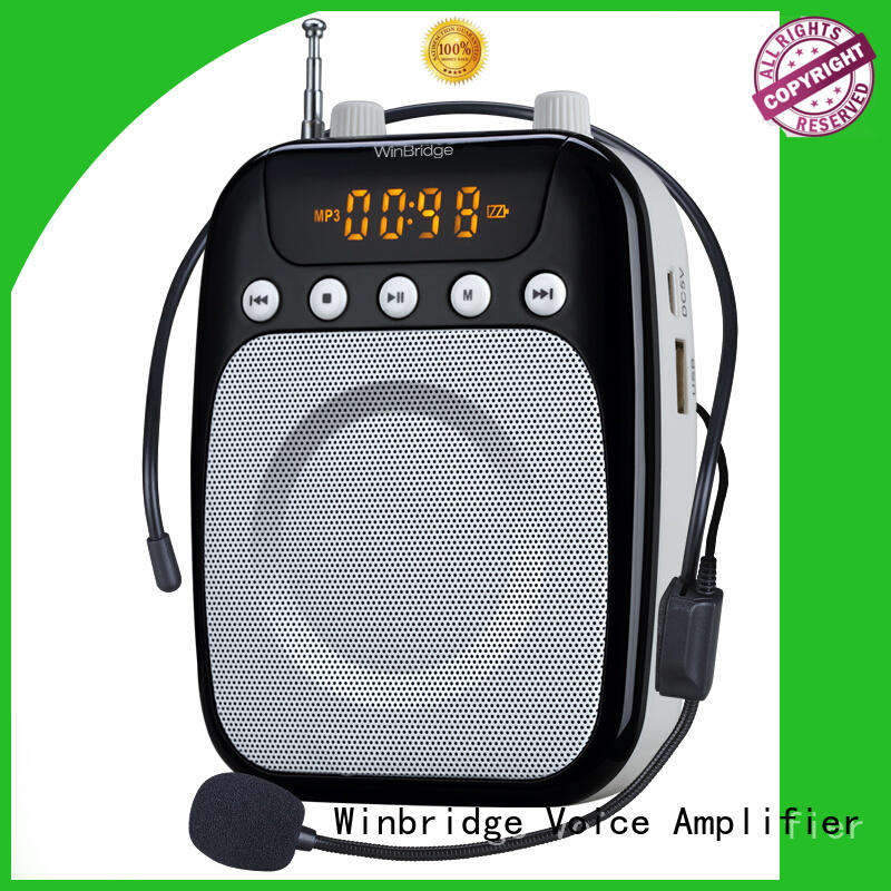high quality tour guide voice amplifier with waistband wholesale Winbridge