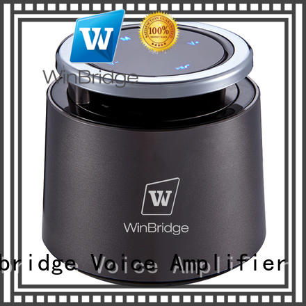 Winbridge high end cheap bluetooth speakers with touch panel for riding