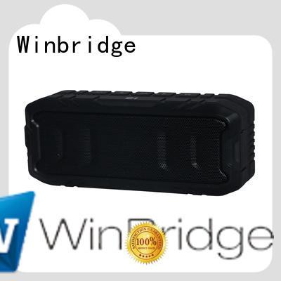 Winbridge bluetooth speaker box company for party