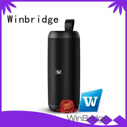 Winbridge waterproof best mini bluetooth speaker manufacturer for riding