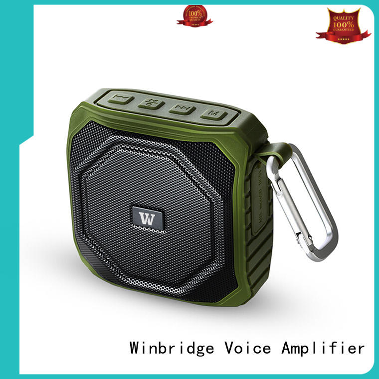 outdoor bluetooth speaker box company for party